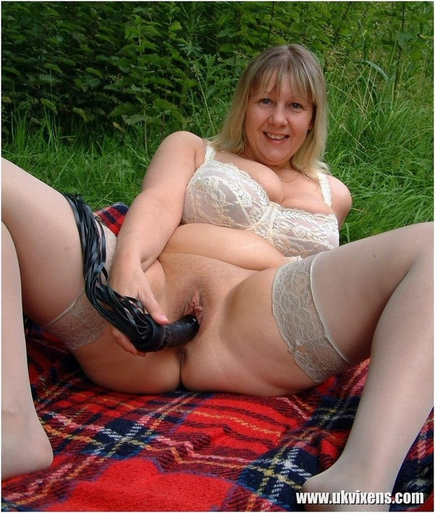 In for a penny in for a pound; Mature Milf