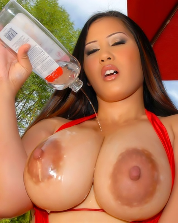 Horny asian big tits