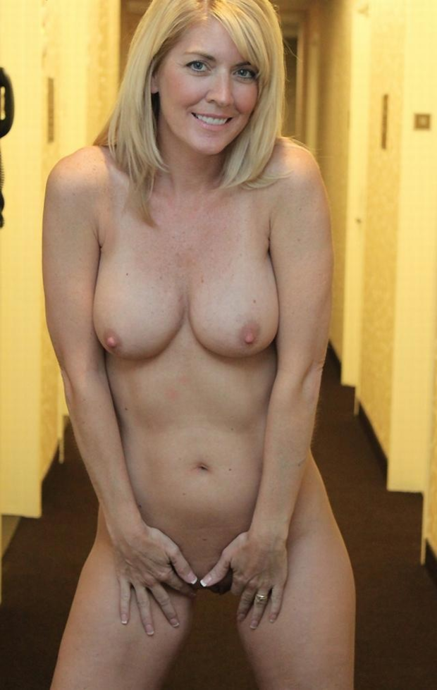 Blonde Big Tits Milf Kitchen