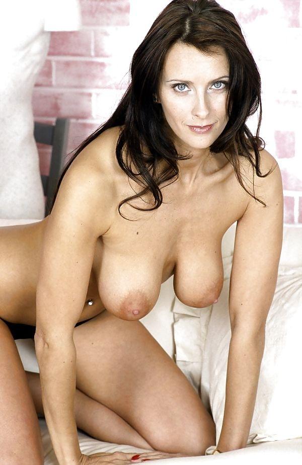 Angie George; Big Tits Brunette Mature MILF
