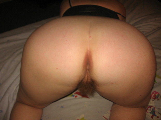 Mature Bbw Ass And Hairy Pussy