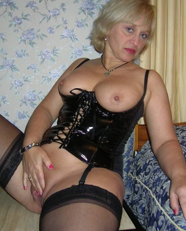 Mature ladies lingerie sexy