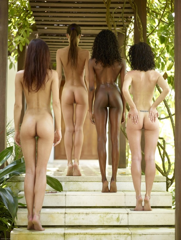 ...; Ass Brunette Ebony Oily Skinny Young