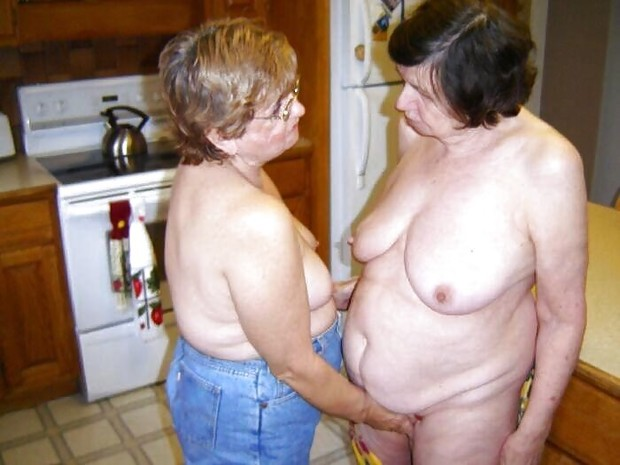 Big tit lesbian grannies