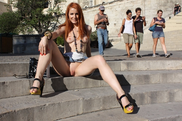 ...; Public Sex Pussy Red Head